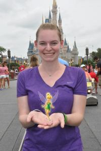 Tink at Disney