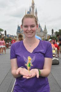 Tink at Disney