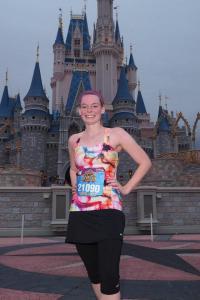 Me with Cinderella's Castle