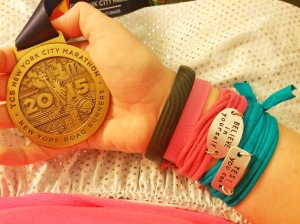 My medal! It's beautiful!