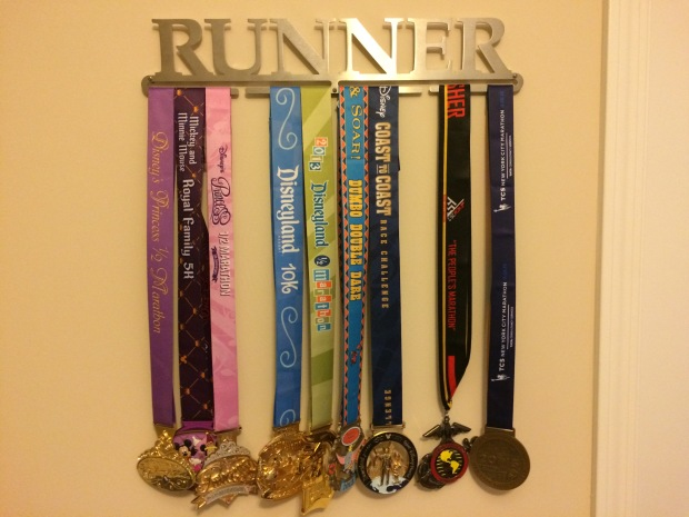 My Disney and Marathon Medals